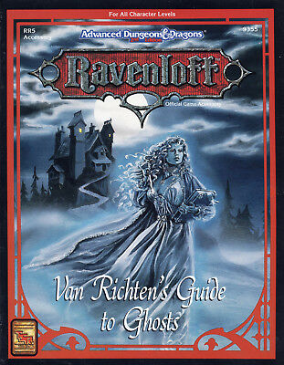 RAVENLOFT Van Richten's Guide to Ghosts  *TOP-Neu !*