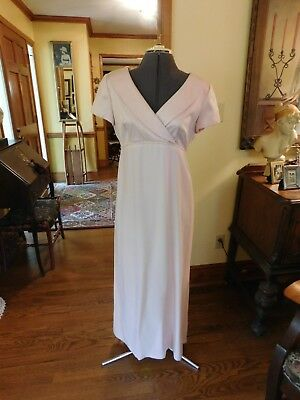 Gorgeous Pale Pink Mother Of The Bride Or Special Occasion Formal Gown Size 10