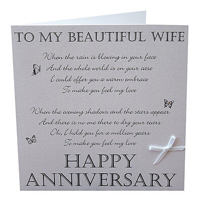 1st dance wedding anniversary card wife to make you feel my love