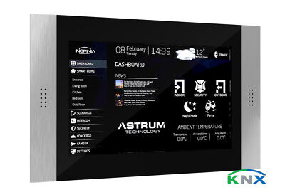 """INSPINIA Grand KNX - 10"""" Smart Home Control Panel with free APP and Software"""