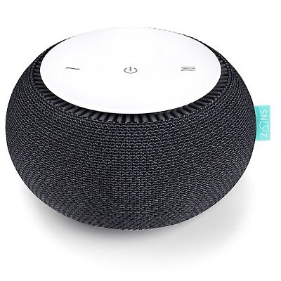 SNOOZ White Noise Sound Machine - Real Fan Inside Control via iOS and Android A