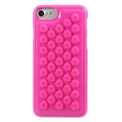 iProtect Apple iPhone 7, iPhone 8 Hard Case with Popping Bubble Wrap - Pink