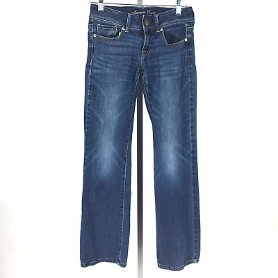 American Eagle Outfitters Original Straight Denim 100% Cotton Jeans Size 26/28