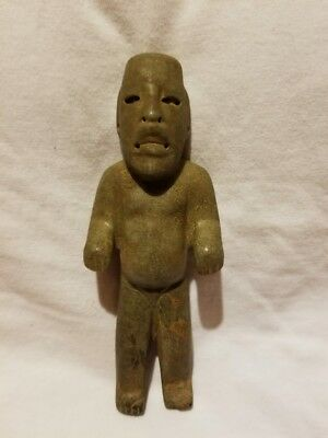 Pre-Columbian Olmec Jade figure from Mexico. Ca. 400 bc.