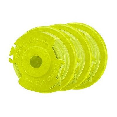 "Ryobi Premium Twisted Trimmer Line and Spool .080"" (3 Pack) AC80RL3"