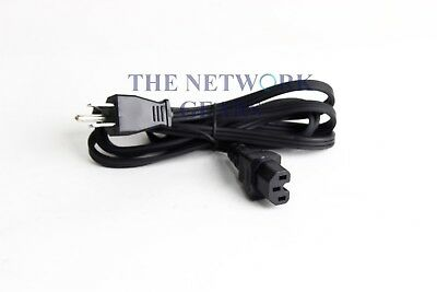 NOB 6ft 3 Prong AC Power Cord Cable for Monitor, PC, Desktop, Printer, Scanner