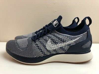 buy online 61654 4d1e3 Nike Air Zoom Mariah Flyknit Racer Trainers Navy Blue UK 10 EUR 45 918264  400