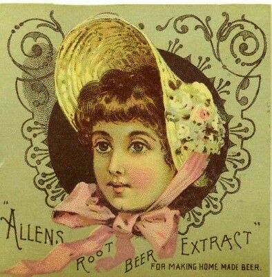 Allen's Root Beer Extract For Health Quack Medicine C. E. Carter Pharmacist P93