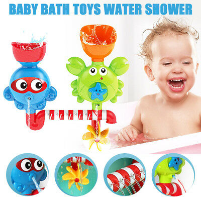 Baby Shower Bath Toys Shower Faucet Bathing Water Spraying Tool AU