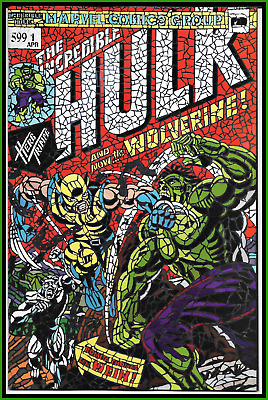 Hunt For Wolverine #1 (2018) Dimasi Shattered Variant Hulk #181 Homage 9.6 Nm+