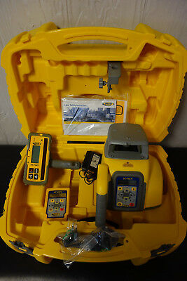SPECTRA PRECISION GL412N SELF LEVELING ROTARY LASER LEVEL with RC402N and HL760