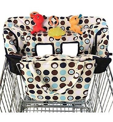2-in-1 Home & Kitchen Features Shopping Cart Cover High Chair For Baby Medium K2