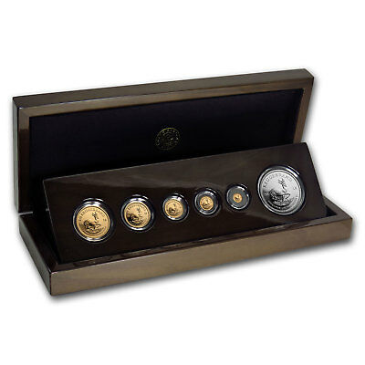 2018 South Africa 6-coin Gold & Silver Krugerrand Proof Set - SKU#167371