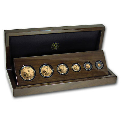 2018 South Africa 6-coin Gold Krugerrand Prestige Proof Set - SKU#166808