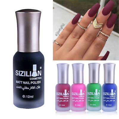 12ML/40 COLORS LASTING Matte Manicure Gel Nail Polish Fast