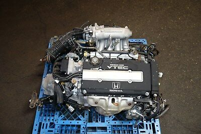 JDM Honda Civic SiR EK4 B16A DOHC VTEC Engine LSD 5speed Transmission ECU 96-00