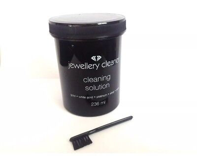 ⭐️WOW⭐️Jewellery Cleaner Gold/Silver/Gems/Platinum ‼️With Brush‼️⭐️WOW⭐️
