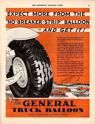 1931 Magazine Ad General Truck Balloon  Advertisment  A212