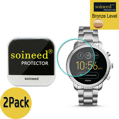 [2-Pack] SOINEED Fossil Q Explorist Gen 3 Tempered Glass Screen Protector Saver