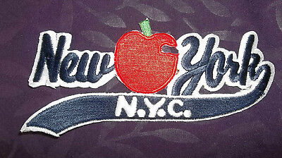 New York City Patch  Nyc Embroidered Big Apple Empire State Diy Sew/ Iron