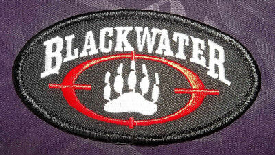 Blackwater Patch Logo Academi Xe Services Soldiers Of Fortune Seals Military
