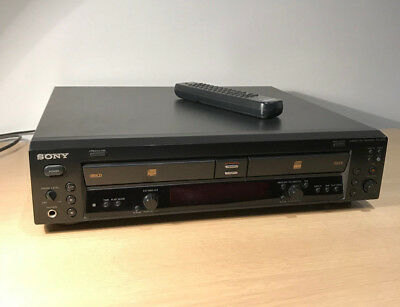 Sony RCD-W100 2-Disc CD Recorder