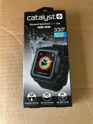 Catalyst - Case for Apple Watch 42mm Series 3 & Series 2 (Black) FREE SHIPPING!