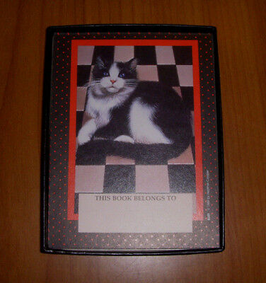 Tuxedo Cat Bookplates by Antioch Publishing Box of 30 Bookplates