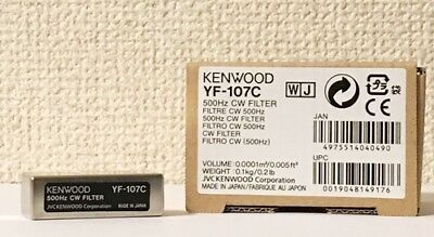 NEW KENWOOD YF-107C 500Hz CW Filter for TS-480HX/SAT MADE IN JAPAN