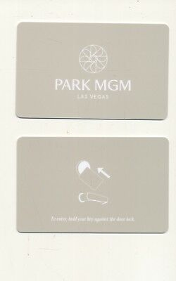 2nd issue-lime gr -PARK MGM --formerly-Monte Carlo--Las Vegas,NV--Room key--K-60