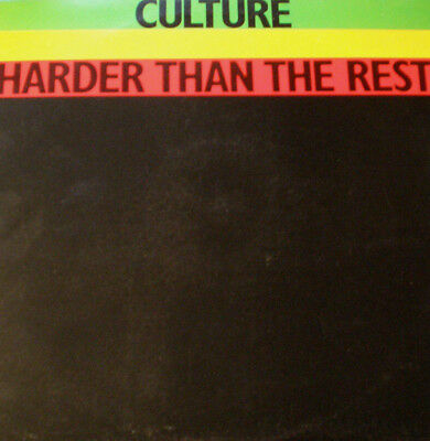 Culture - Harder Than The Rest - Uk 78 - Mint-Nm