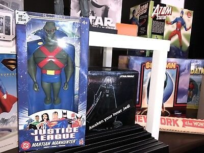 Perfect Condition Display Piece Martian Manhunter Just League Figure Rare