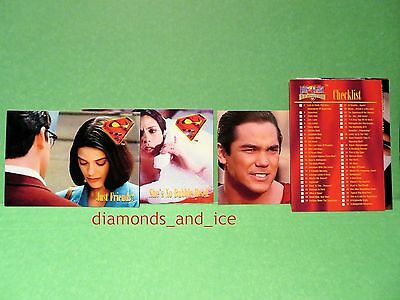 Lois and Clark:  The New Adventures of Superman Trading Card, 8-Card LOT