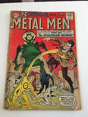 Showcase 38 May-June 1962 Reader's Copy  2nd Appearance Metal Men