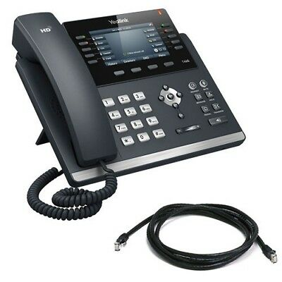 New Yealink Sip-46S, Ipy-T46S Sip-T46S, 16 Line Colour Ip Phone