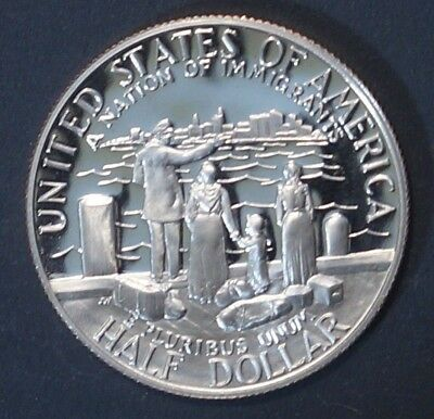 PROOF 1/2 dollar 1986-S UNITED STATES(Statue of Liberty San Francisco mint) (2T)