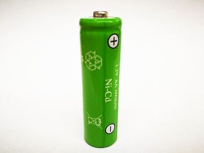AA Rechargeable Batteries NiCd 600mAh 1.2v Garden Solar Ni-Cd Light LED New