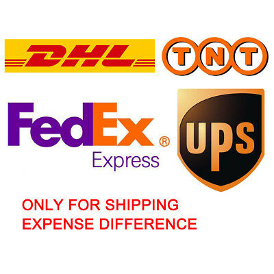Only For Shipping Expense Difference DHL/UPS/TNT/Fedex Express