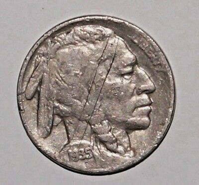 1935-S  BUFFALO NICKEL FLAT GROUND UNITED STATES San Francisco     (2)