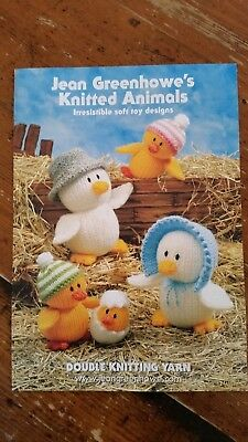 Jean Greenhowe's Knitted Animals Pattern Book