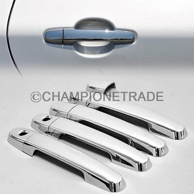 For Toyota 02-06 Camry 03-11 Corolla 09-11 Yaris Chrome Door Handle Cover Trims