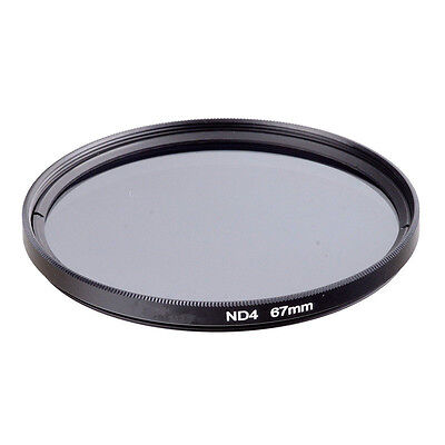 Lens Neutral Density ND ND2 ND4 8 16 32 Filter For Canon Nikon 37 52 67 72 72 mm