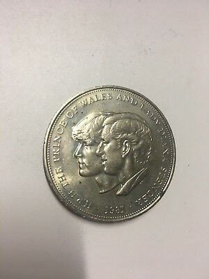 1981 UK Crown Coin Commemorating Charles & Diana's Wedding