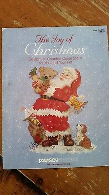 Giordano Christmas Counted Cross Stitch Booklet - The Joy of Christmas
