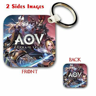 e3234c4be Arena of Valor AOV Custom Keychain Key Ring Jewelry Pendant with 2 Sides