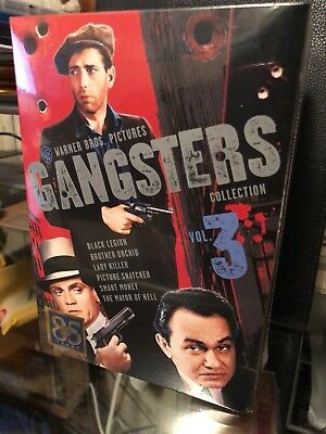 Warner Bros Gangsters Collection: Vol. 3 (DVD) 6-Disc Set! James Cagney, NEW!