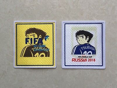 Set Of Velet 2018 Russia World Cup TSUBASA Patch Badge For Japan Nippon Jersey