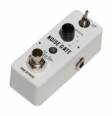 Rowin LEF-319 Noise Gate Guitar Effect Mini Pedal 2 Working Modes Soft and Hard