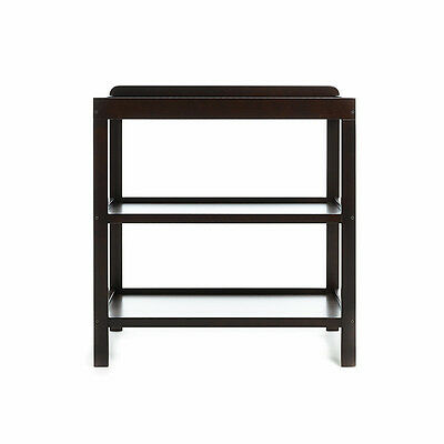 Obaby Open Baby Changing Unit - Walnut - Baby Change Table