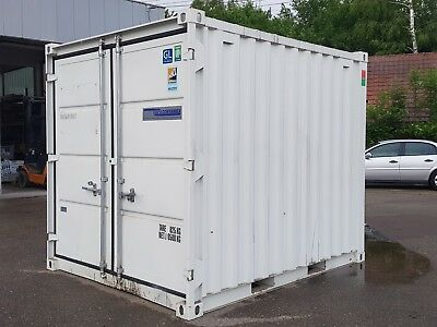 Stahlcontainer, Lagercontainer, Materialcontainer, Container, 3 x 2 m, 10 Fuss
